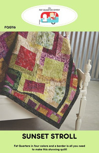 Sunset Stroll Lap Size Quilt Kit