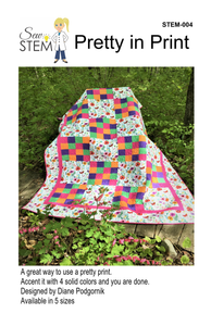 Pretty In Print Quilt Pattern