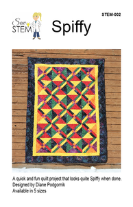 Spiffy Quilt Pattern - Downloadable