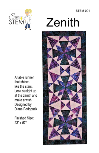 Zenith Table Runner Pattern