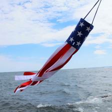 Patriotic Windsock Pop-Up Kit