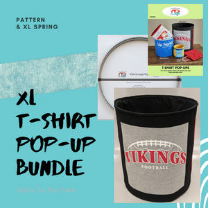 XL T-Shirt Pop Up Bundle