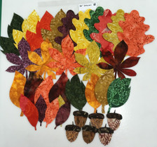 """Lacy Leaf 36"""" Table  Runner Kit #2 - Actual Leaves in kit."""