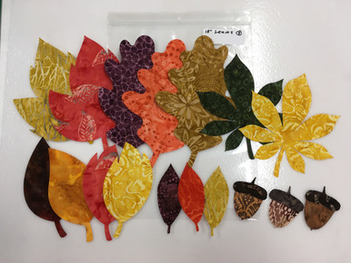 Actual Leaves in kit #1
