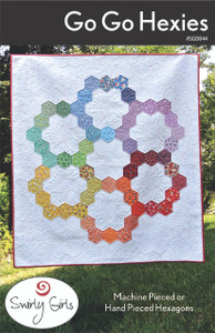 SGD044 Go Go Hexies Quilt Pattern