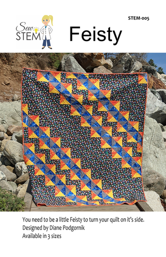 Feisty Quilt Pattern - Downloadable