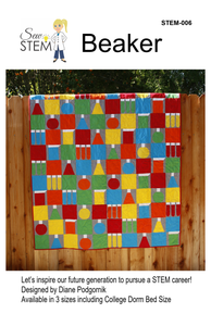 Beaker Quilt Pattern - Downloadable
