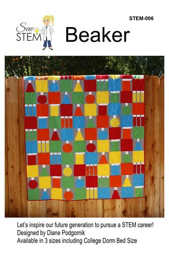 Beaker Quilt Pattern - Downloadable