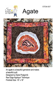 Agate Quilt Pattern - Downloadable