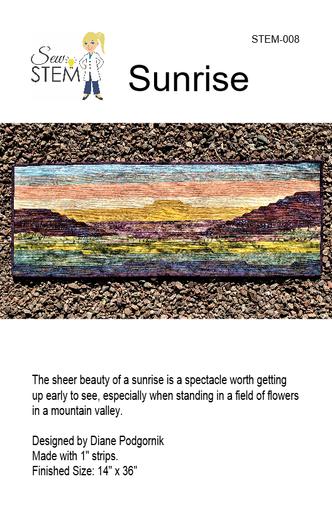 Sunrise Quilt Pattern - Downloadable
