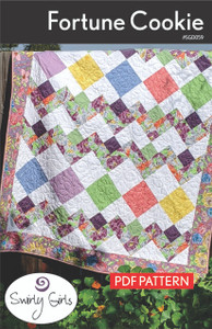 SGD059pdf Fortune Cookie Quilt Pattern