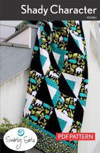 SGD064pdf Shady Character Quilt Pattern