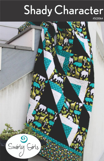 SGD064 Shady Character Quilt Pattern