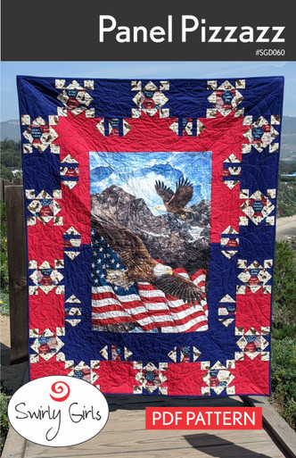 SGD060 Panel Pizzazz Quilt Pattern