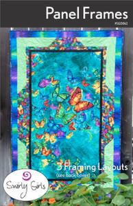 SGD062 Panel Frames Quilt Pattern