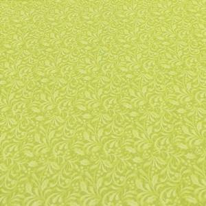 Benartex Willow Joy Santas Here 6077B-44 Bright Green
