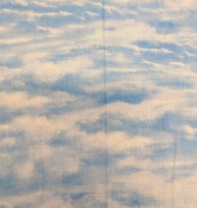 1 yard cut of Sky Blue Fabric