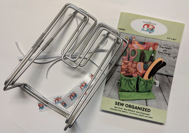 Sew organized Bulk Pack - 3 frames and a free pattern.  Not packaged for retail.