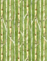 Deer Meadow Birch - Green by Wilmington Prints