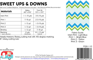 FQG110 Sweet Ups & Downs Pattern