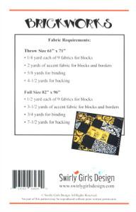 Brickworks Quilt Pattern