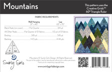 SGD067 Mountains Quilt & Wall Hanging Pattern