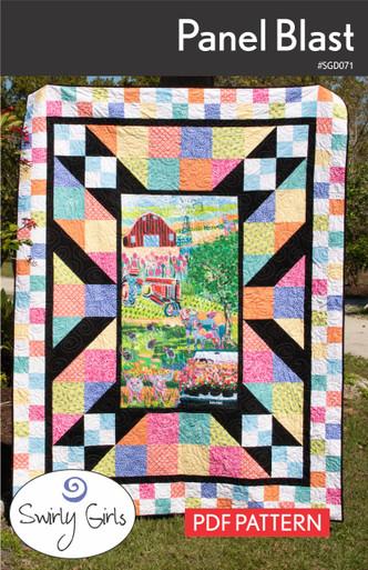 SGD071 Panel Blast Quilt Pattern