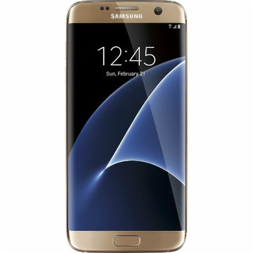 Samsung Galaxy S7 Edge 32GB Gold Platinum ATT GSM Unlocked- Refurbished