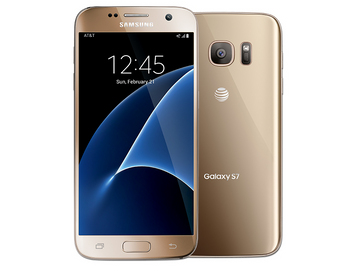 Samsung Galaxy S7 32GB Gold Platinum ATT GSM Unlocked- Refurbished
