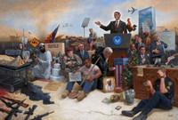 Obamanation 16 X 24 OE - Litho Print
