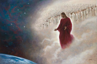 Parting the Veil (The Second Coming) 16x24 LE Signed & Numbered - Giclee Canvas