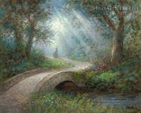 Path of Peace 11x14 OE - Litho Print
