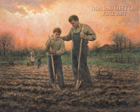Planting Seeds of Greatness 20x20 LE Signed & Numbered - Giclee Canvas