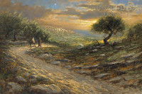 Road to Bethlehem 16x24 LE Signed & Numbered - Giclee Canvas
