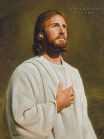 Son of God 11x14 LE Signed & Numbered - Giclee Canvas