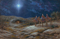 Star of Bethlehem 12x18 OE Signed by Artist - Giclee Canvas