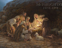 The Nativity 11x14 LE Signed & Numbered - Giclee Canvas