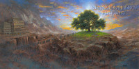 Tree of Life 15x30 LE Signed & Numbered - Giclee Canvas