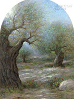 Garden of Gethsemane 13.5 x 24 LE Signed & Numbered - Giclee Canvas