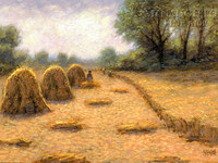 Golden Harvest 18 x 24 LE Signed & Numbered - Giclee Canvas