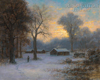 Winter Quarters 11 x 14 LE Signed & Numbered - Giclee Canvas