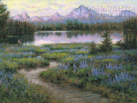 Teton Majesty 18 x 22 LE Signed & Numbered - Litho Print