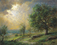 Adam Ondi Ahman 16x20 LE Signed & Numbered - Giclee Canvas