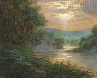 Susquehanna River 20x24 LE Signed & Numbered - Giclee Canvas