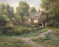 Old Watermill 11 x 14 LE Signed & Numbered - Giclee Canvas