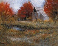 Almost Home 12 x 18 OE Signed by Artist - Giclee Canvas