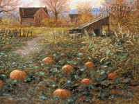 Harvest Memory 18 x 24 LE Signed & Numbered - Giclee Canvas