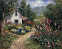 Gentle Memory - 4th of July LE Signed & Numbered 11x14 - Giclee Canvas