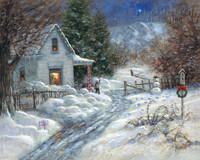 Gentle Memory - Christmas OE 11x14 - Litho Print