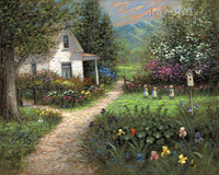 Gentle Memory - Easter LE Signed & Numbered 24x30 - Giclee Canvas